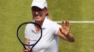 Martina Navratilova egybekelt a párjával