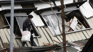Remény a földrengés után Japánban