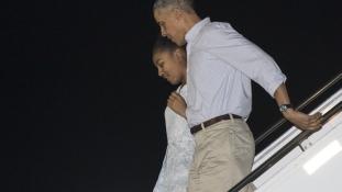 Obamék Hawaii szigetén nyaralják végig a karácsonyt