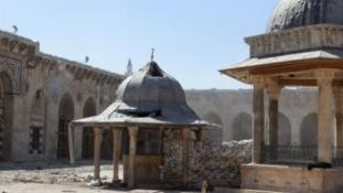 Háromszáz kulturális örökséget ért találat a szíriai válság alatt