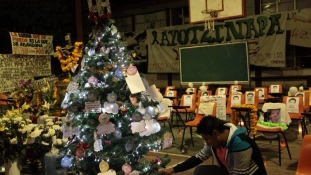 Ayotzinapa, ahol idén nincs karácsony