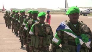 Sierra Leone kivonja katonáit Szomáliából