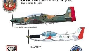 Új gyakorlógépeket kapott az argentin légierő