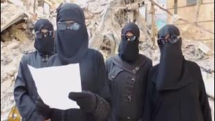 Nők az ISIS legjobb propagandistái