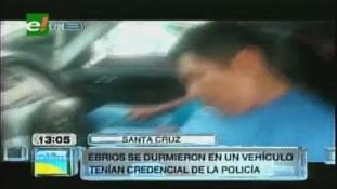A piros lámpánál aludtak el az ittas rendőrök (videóval)