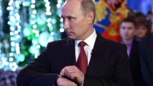 Varjak bojkottálják az orosz elnök újévi beszédét