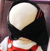"""Romeisa, az arc nélküli """"iszlám baba"""""""