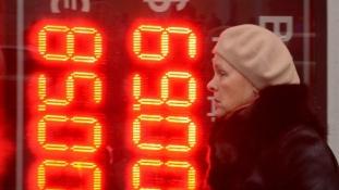 Fekete kedd Oroszországban – összeomlóban a rubel