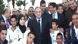 Marokkóban a Realtól tanulnak focizni