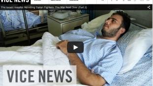 Lefilmezték, hogyan segíti Izrael a szír felkelőket