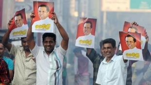 Választási sokk Srí Lankán