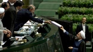 Át kell írni a költségvetést Iránban is