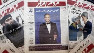 """Betiltották az iráni lapot, amely """"Charlie vagyok"""" felirattal jelent meg"""