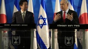 A Netanjahu-Sinzó találkozó: Mérlegen az izraeli-japán kapcsolatok