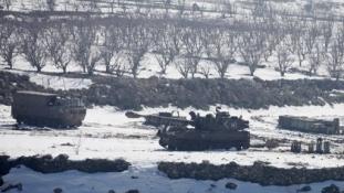 Fokozott katonai jelenlét a libanoni-izraeli határon