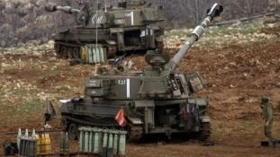 Izraeli gépek bombázták a szíriai hadsereget a Golán-fennsíkon
