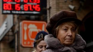 2,9%-os gazdasági visszaesés várható Oroszországban