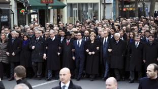 Kiretusálta a női politikusokat a párizsi menetből egy ultraortodox izraeli lap