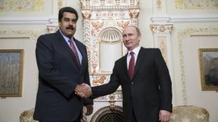 Gazdasági megállapodásokat szignózott Putyin és Maduro