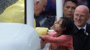 Ferenc pápa: Ázsiában van a katolikus egyház jövője