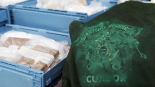 32 kiló marihuánával fogták meg az ecuadori rendőröket