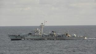 Kínai fregatt Bangladesnek
