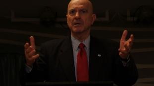 Ilan Mor izraeli nagykövet előadása