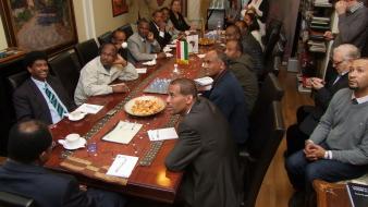 Etióp delegáció az AHU-ban