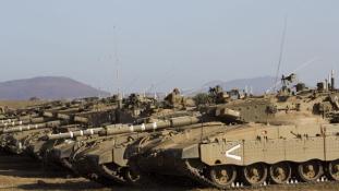 Rakétákat lőttek ki Szíriából a Golán-fennsíkra