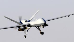 Drog-drón pottyant le Tijuanában