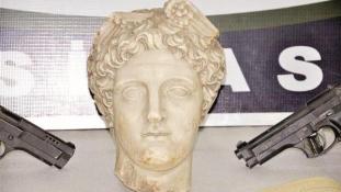 Kétezer éves, már eladott Hermész-szobrot szerzett vissza a török rendőrség