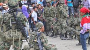 Kolumbia: 36 katona került a lakosság fogságába