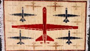 Új minta az afgán szőnyegeken – a drón
