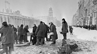 Kegyeletsértő Blokád-diéta tippek  Szentpétervárott