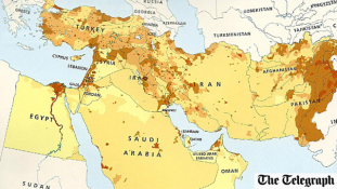 Letörölte Izraelt a világ térképéről egy amerikai-brit kiadó