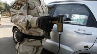 Hibás bombakeresők ellen fogtak össze az iraki katonák