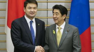 Szabadkereskedelmi egyezményt írt alá Japán és Mongólia