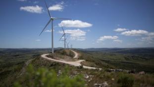 Uruguay új szélparkja a szélcsendre is felkészül