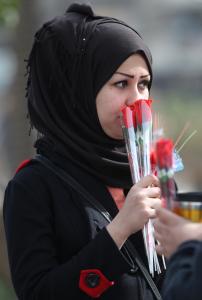 IRAQ-VALENTINE-DEMO