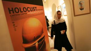 Holokauszt-karikaturák versenye Teheránban