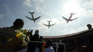 Afrika bezárta a nyitott égboltot