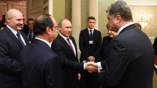 Putyin bejelentette a tűzszünetet