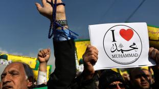 """""""Szeretem Mohamedet"""" kampányt indítottak Iránban"""