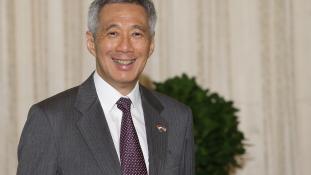 Rákos a szingapúri miniszterelnök