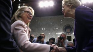 Hillary Clinton és Elizabeth Warren titkos találkozója