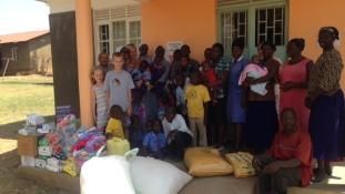 A Magyar Afrika Társaság éves látogatása a kelet-ugandai St. Kizito árvaházban