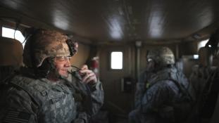 Rekordideje nem halt meg amerikai katona harc közben