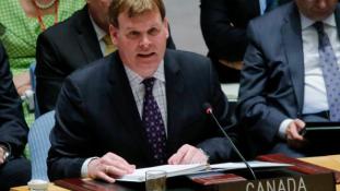 Lemond a kanadai külügyminiszter