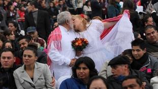 Mexikóváros: 1700 egybehangzó igen Valentin napján
