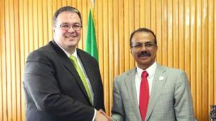 Etiópiában tárgyalt Balogh Csaba